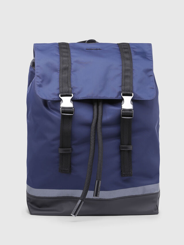 Diesel - VOLPAGO BACK, Blue - Backpacks - Image 1