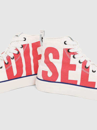 Diesel - S-ASTICO MC W, White/Red - Sneakers - Image 4