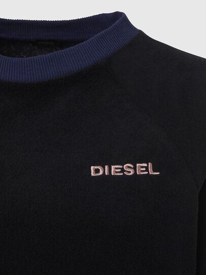 Diesel - UFLT-LESIA, Black - Sweaters - Image 3