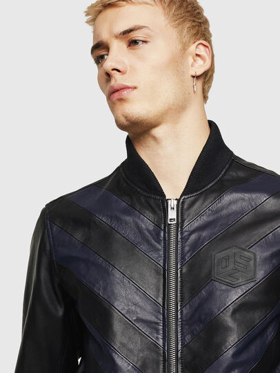 Diesel - L-OLEG,  - Leather jackets - Image 3