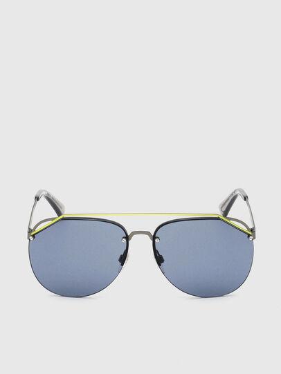 Diesel - DL0314, Grey/Blue - Sunglasses - Image 1