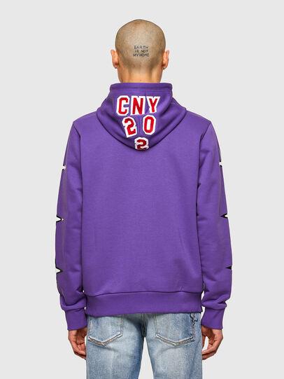 Diesel - CL-S-GIRK-HOOD-O1, Violet - Sweaters - Image 3