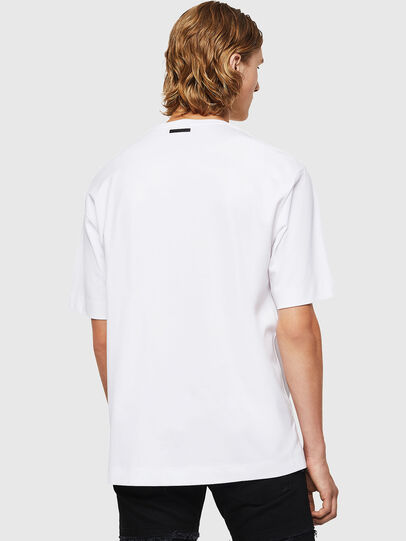 Diesel - TEORIALE-X3, White - T-Shirts - Image 2