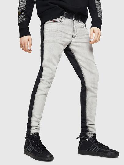 Diesel - Sleenker 082AX, Black/Dark grey - Jeans - Image 1