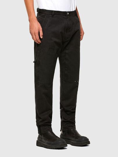 Diesel - P-KOLT, Black - Pants - Image 3