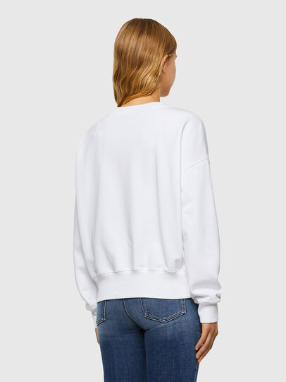 Diesel - F-MAGDA-V50, White - Sweaters - Image 2