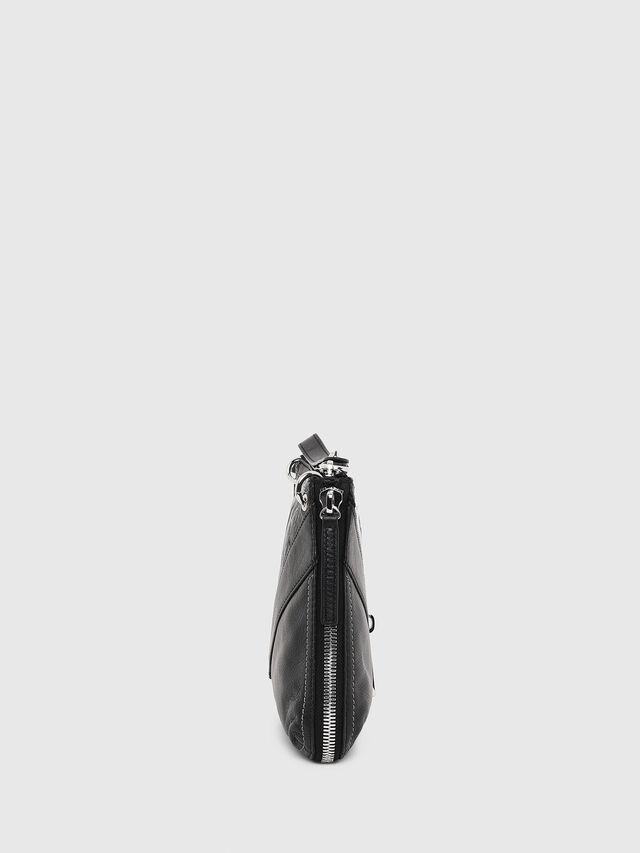 Diesel - LE-LITTSYY, Black Leather - Clutches - Image 3