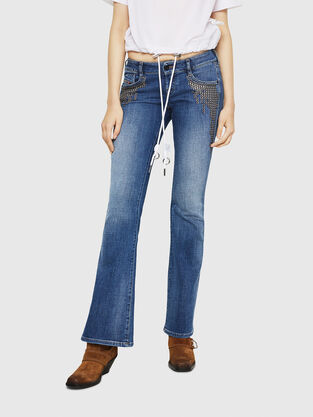 D-Clayre 082AD, Medium blue - Jeans