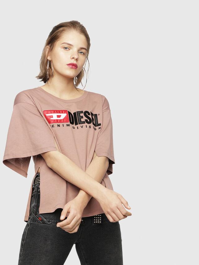 Diesel - T-JACKY-D, Face Powder - T-Shirts - Image 1