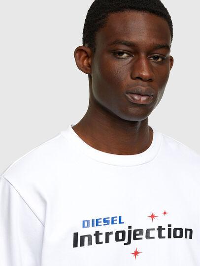 Diesel - S-GIRK-K32, White - Sweaters - Image 3