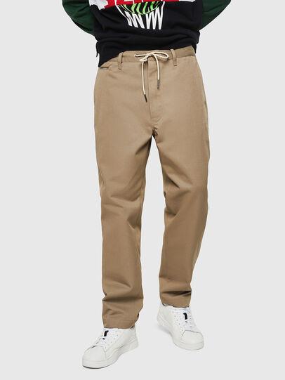 Diesel - P-MORGY, Light Brown - Pants - Image 1