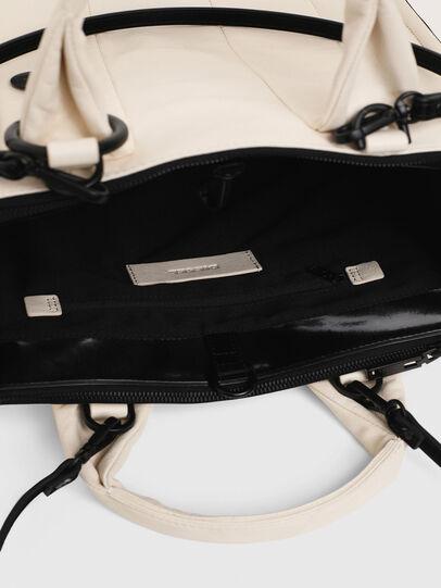 Diesel - HAUNYA, White - Shopping and Shoulder Bags - Image 4