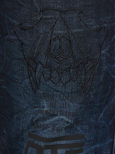 Diesel - D-REEFT JoggJeans® 069RB, Dark Blue - Jeans - Image 4