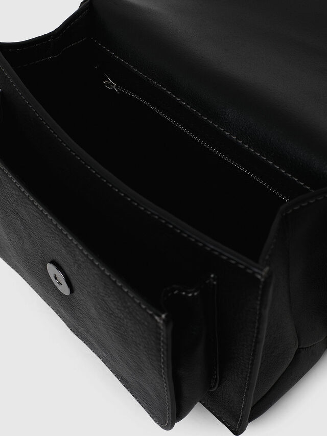 Diesel - MISS-MATCH CROSSBODY, Opaque Black - Crossbody Bags - Image 7