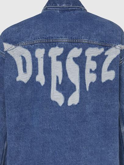 Diesel - D-RAF, Medium blue - Denim Jackets - Image 5