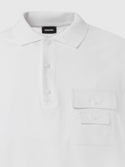 Diesel - T-TASK-POLO, White - Polos - Image 3