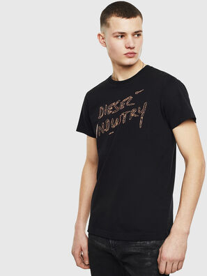 T-DIEGO-S15, Black - T-Shirts
