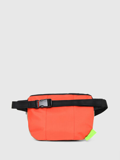 Diesel - LOKI, White/Orange - Crossbody Bags - Image 2