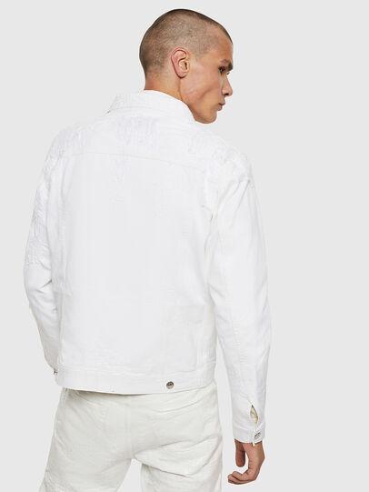 Diesel - NHILL, White - Denim Jackets - Image 2