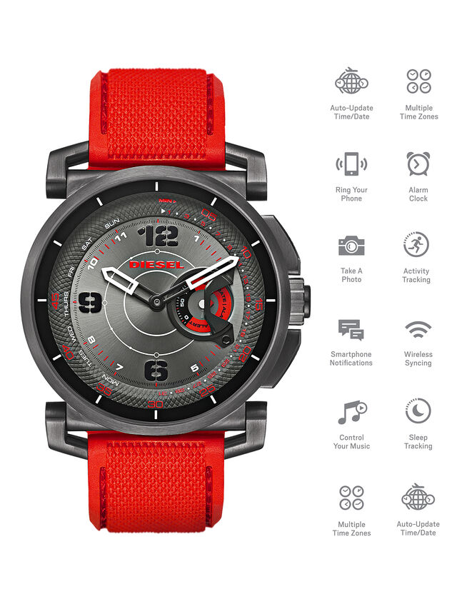 Diesel DT1005, Red - Smartwatches - Image 1