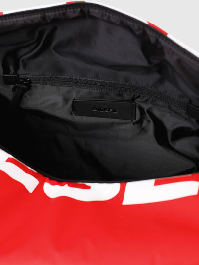 Diesel - F-BOLD DUFFLE, Red - Travel Bags - Image 5