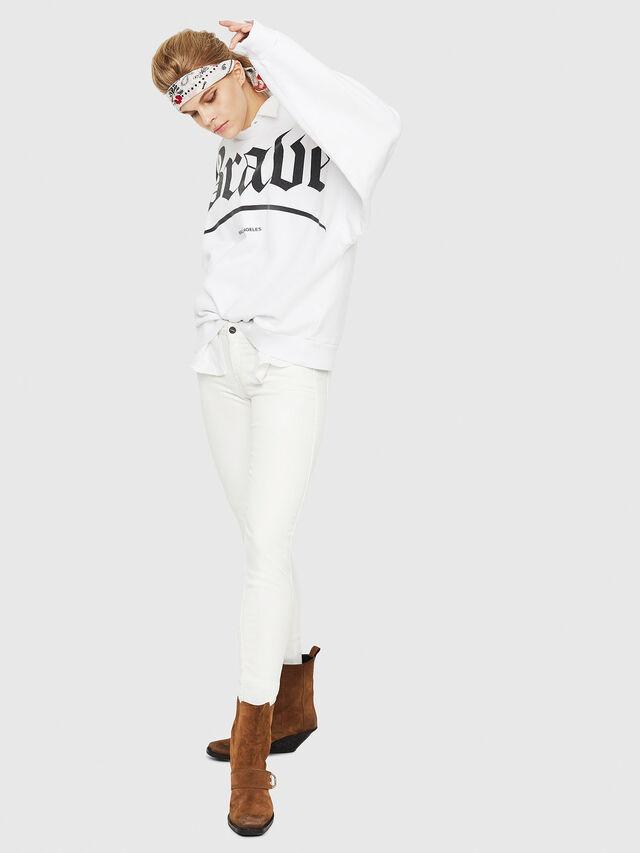 Diesel - Gracey JoggJeans 088AZ, White - Jeans - Image 5