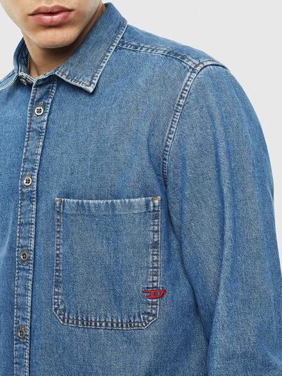 Diesel - D-BER-P, Blue Jeans - Denim Shirts - Image 3