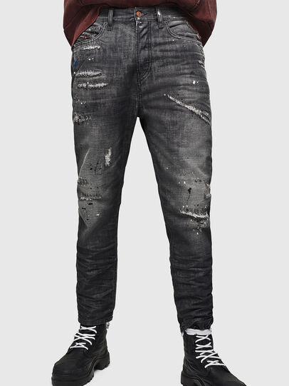 Diesel - D-Vider 083AB, Black/Dark grey - Jeans - Image 1