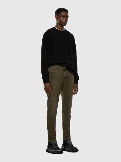 Diesel - KROOLEY JoggJeans® 0670M, Dark Green - Jeans - Image 5