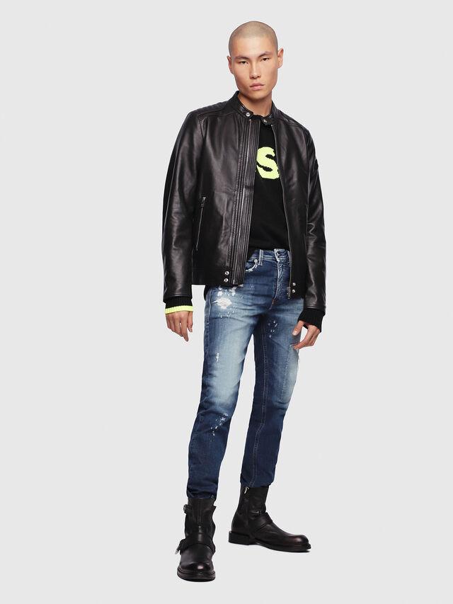 Diesel - Thommer JoggJeans 087AK, Dark Blue - Jeans - Image 4