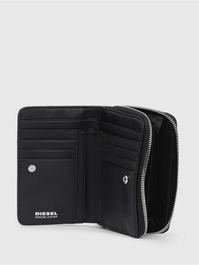 Diesel - BUSINESS II, Opaque Black - Small Wallets - Image 3