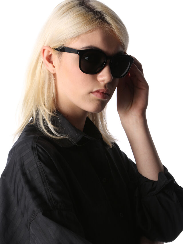 Diesel - DM0190, Black - Sunglasses - Image 5