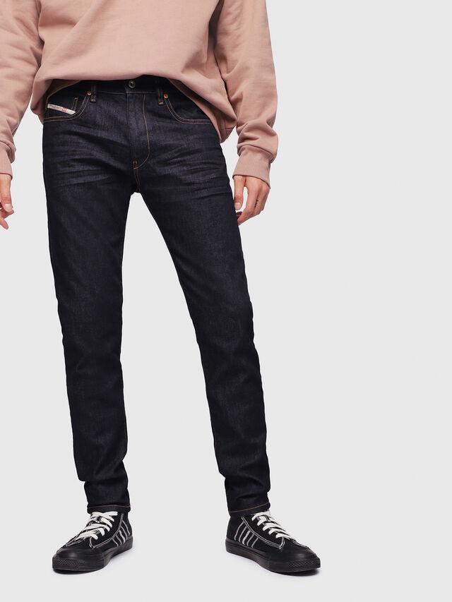 Diesel - D-Strukt 082AC, Dark Blue - Jeans - Image 1