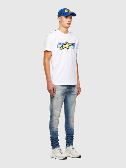 Diesel - ASTARS-T-DIEGOS-B, White - T-Shirts - Image 5