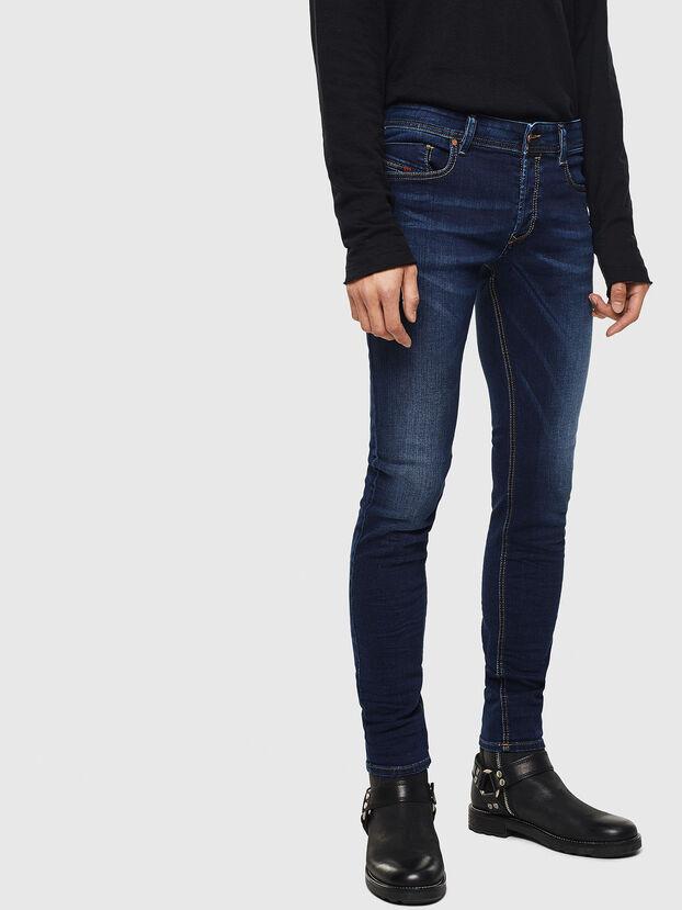 Sleenker 084RI, Dark Blue - Jeans