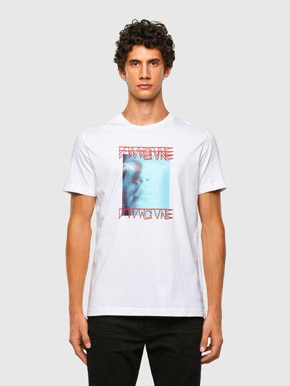 Diesel - T-DIEGOS-X47, White - T-Shirts - Image 5