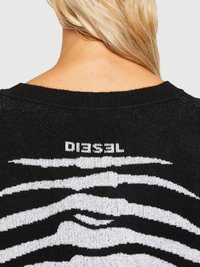 Diesel - M-CRYSTAL, Black - Knitwear - Image 3