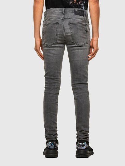 Diesel - D-Amny 009NZ, Black/Dark grey - Jeans - Image 2