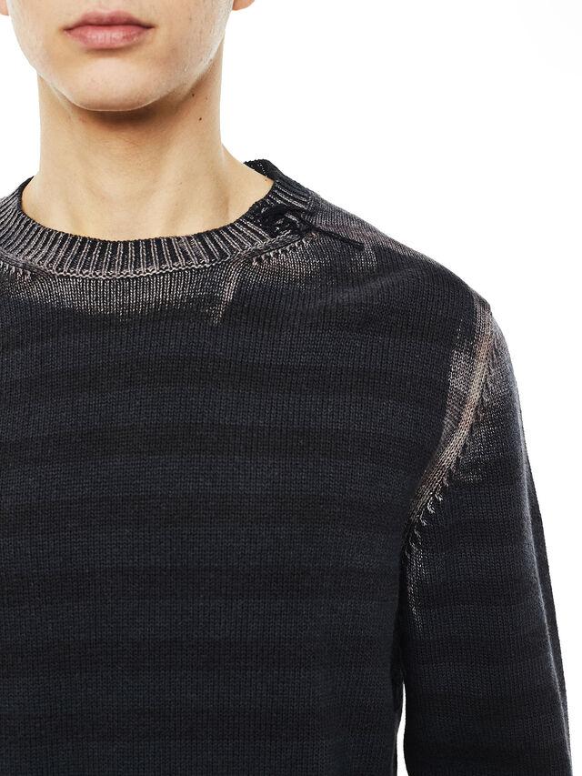 Diesel - KINTERKO, Black - Knitwear - Image 3