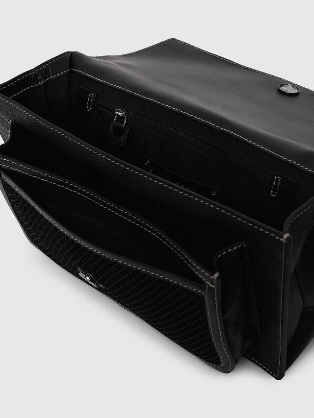 Diesel - MISS-MATCH CROSSBODY, Black/Grey - Crossbody Bags - Image 4