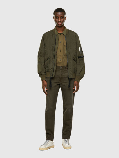 Diesel - D-Fining-Chino 0699P, Military Green - Jeans - Image 6