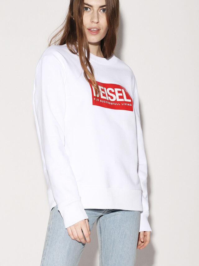 Diesel - DEIS-SGIRO, White - Sweaters - Image 3