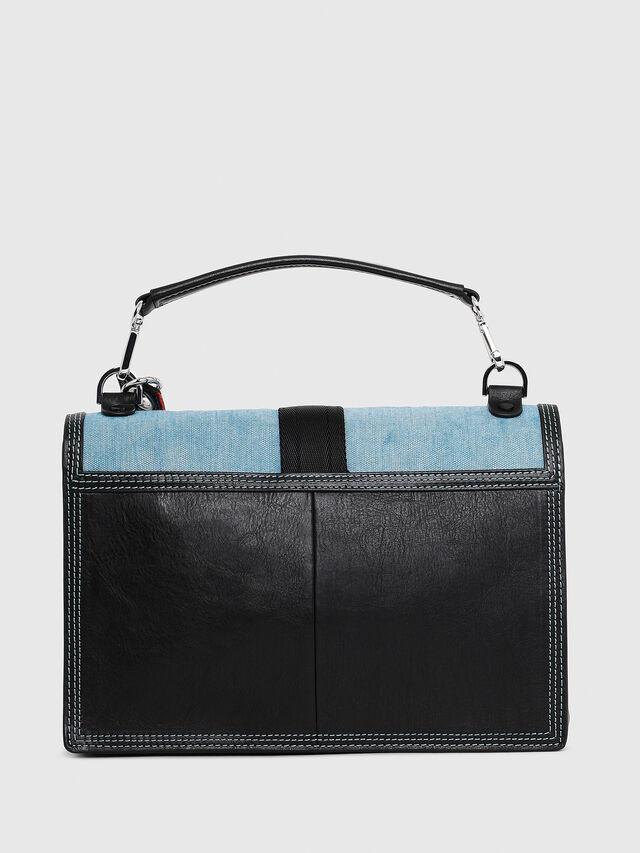 Diesel - MISS-MATCH CROSSBODY, Black/Blue - Crossbody Bags - Image 2