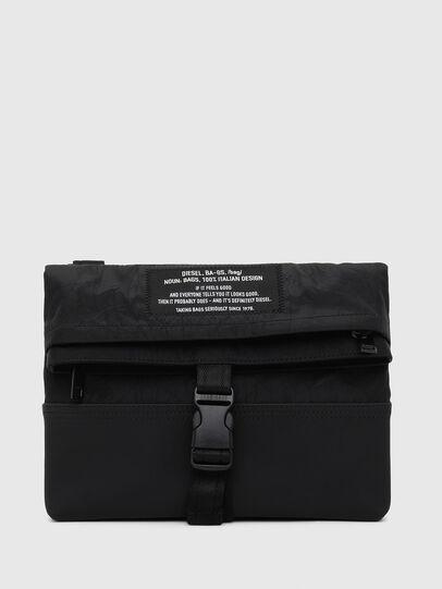 Diesel - ECHINO, Black - Crossbody Bags - Image 1
