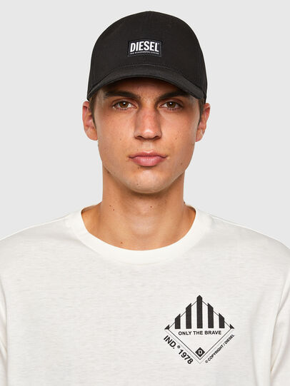 Diesel - T-JUST-LS-N60, White - T-Shirts - Image 4