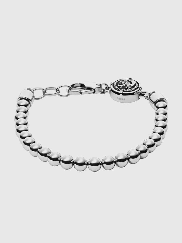 Diesel BRACELET DX0930, Metal Grey - Bracelets - Image 1