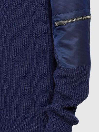 Diesel - K-GEORGE, Blue - Knitwear - Image 3