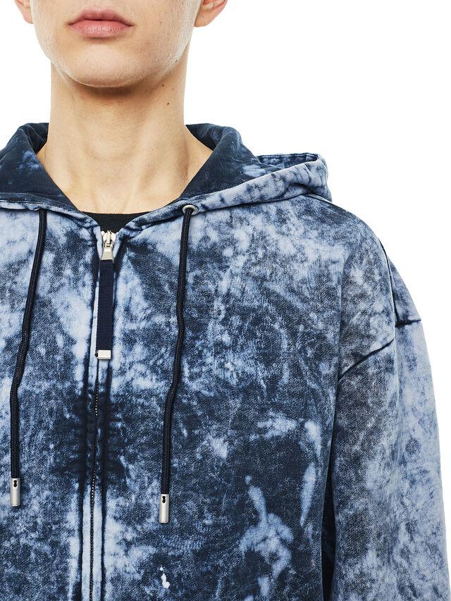 Diesel - FYOVER, Blue/White - Sweaters - Image 3