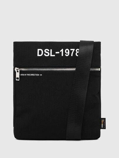 Diesel - F-URBHANITY CROSS ZP, Black - Crossbody Bags - Image 2