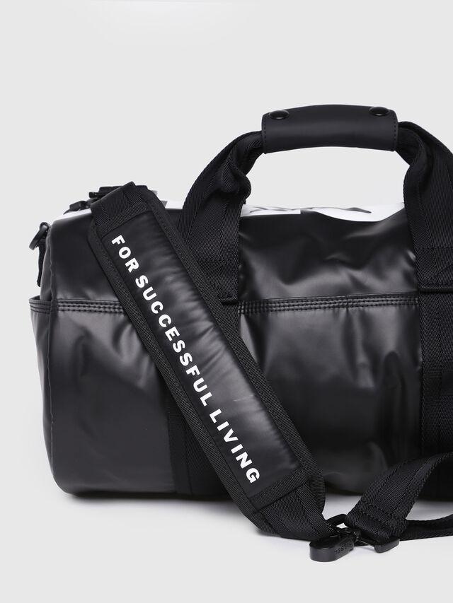 Diesel - F-BOLD DUFFLE FL, Bright Black - Travel Bags - Image 3